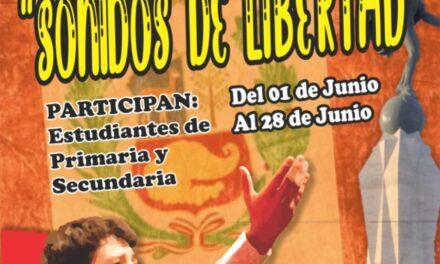 """Concurso de Declamación """"SONIDOS DE LIBERTAD"""""""