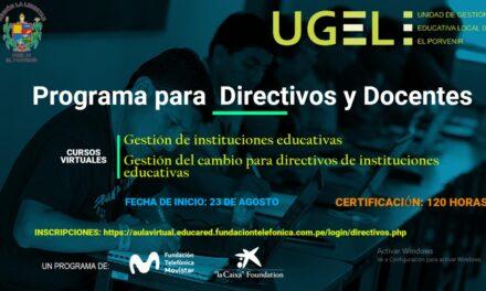 Programa para Directivos y Docentes