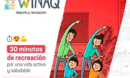 """Convoca a participar de la Actividad Familiar """"30' de Recreación por una Vida Activa y Saludable"""""""