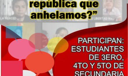 """II DEBATE VIRTUAL – """"PERÚ 200 AÑOS DESPÚES: ¿Somos la república que anhelamos?"""""""
